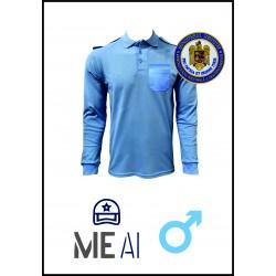 Bluză Polo Bleu - Poliția Penitenciară Bărbat
