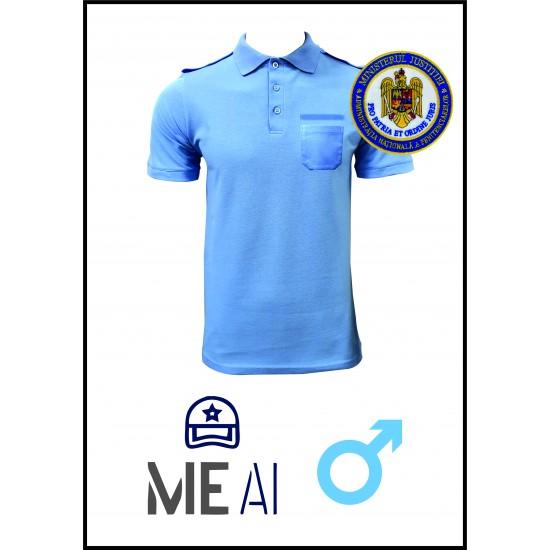 Tricou Polo BLEU - Poliția Penitenciară Bărbat
