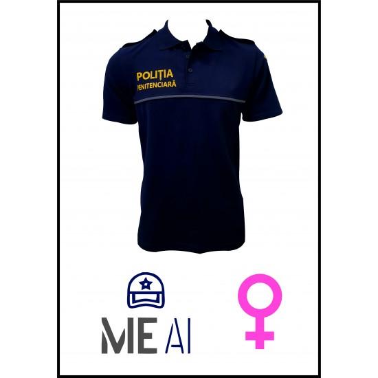 Tricou Polo Bleumarin - Poliția Penitenciară Damă