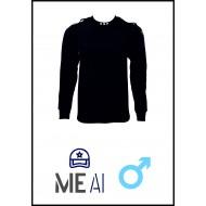 Bluză Glat Negru - ANP Bărbat