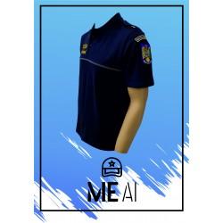 Set 3 Tricouri Polo Bleumarin - Poliția Penitenciară Bărbat