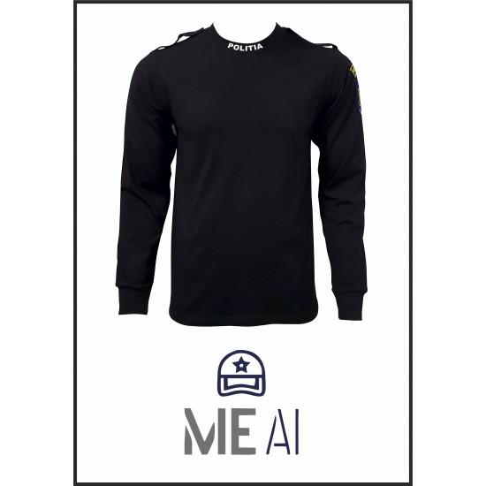 Bluză Glat Negru - Poliția Română