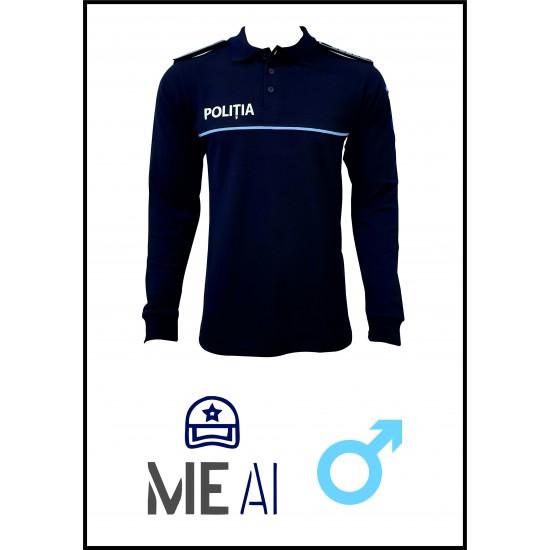 Bluză Polo Bleumarin - Poliția Română Bărbat