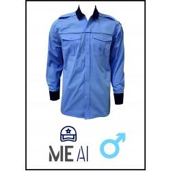 Cămașă bluză bleu bărbați - Poliție