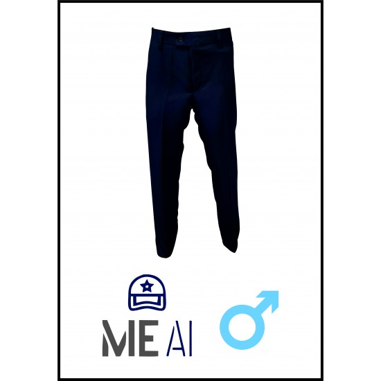 Pantalon Politie Barbati Bleumarin Inchis