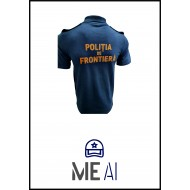 Set 3 Tricouri Polo - Poliția de Frontieră Bărbat